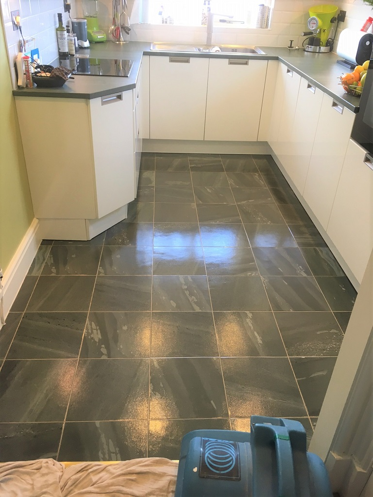 Vinyl Tile Cleaning