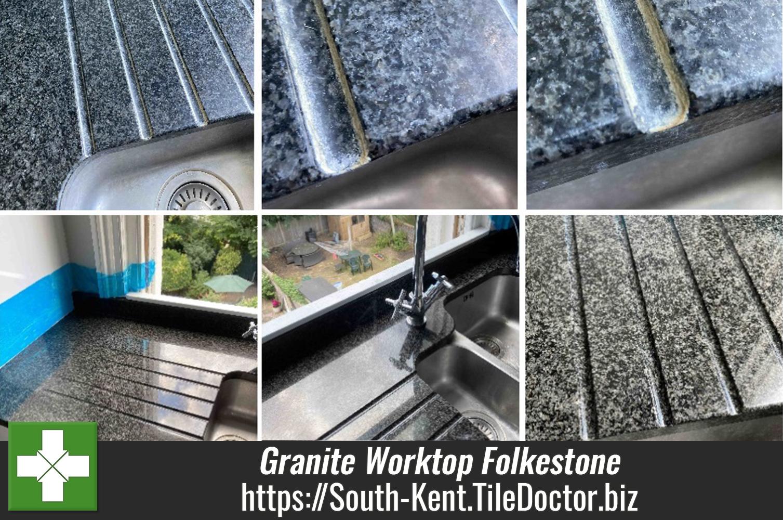Granite-Worktop-Limescale-Restoration-in-Folkestone-Kitchen